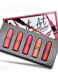 abordables -5 pcs 5 couleurs Maquillage Quotidien Kits / Facile à transporter / Homme Lueur Portable / Hydratation / Décontracté / Quotidien simple Maquillage Cosmétique Accessoires de Toilettage