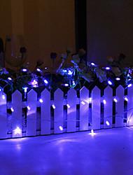 cheap -10m String Lights 80 LEDs 1 set Blue Decorative 5 V