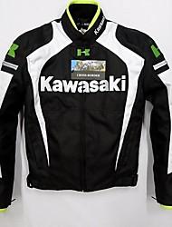 Недорогие -куртка для мотоциклетной одежды kawasaki для мужчин хлопок / полиэстер смесь весна и осень / зима / защита от падения / лучшее качество / воздухопроницаемая / съемная