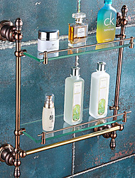 cheap -Bathroom Shelf Creative Contemporary Brass 1pc - Bathroom Wall Mounted