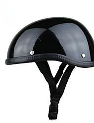 cheap -Unisex Professional Motorcycle Half Helmet Hat Cap for Harley Chopper Bobber