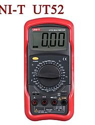 Недорогие -uni-t ut52 жк-цифровой мультиметр переменный ток вольтметр усилитель ом тестер емкости переменный / постоянный ток 20а