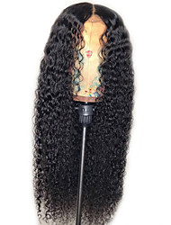 cheap -Synthetic Wig Jerry Curl Layered Haircut Wig Very Long Natural Black Synthetic Hair 22 inch Women's New Arrival Black