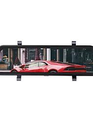 Недорогие -ziqiao h19 1296p потоковое мультимедиа зеркало заднего вида видеорегистратор регистратор видеорегистратор 9,66-дюймовый ips ночного видения заднего вида автомобильный видеорегистратор