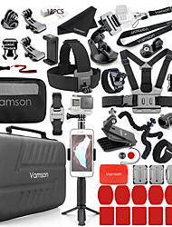 cheap -Accessories Camera Bag Selfie Accessories Travel Camera Bags For Action Camera Gopro 7 Gopro 6 Gopro 5 Mountain Bike / MTB Ski / Snowboard Multisport PU (Polyurethane) ABS+PC