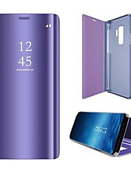 cheap -Phone Case For Samsung Galaxy Full Body Case S9 Shockproof Solid Color Hard PC