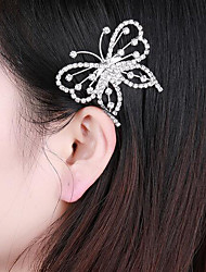 cheap -Women's Cute Elegant Princess Cubic Zirconia Silver Plated Alloy Party Party Evening - Solid Colored
