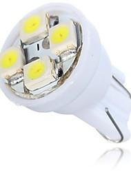 cheap -T10 Wedge light 4 SMD LED 12V car dashboard lamp New