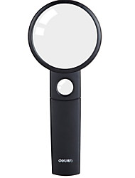 cheap -1 Pc Black Handheld Magnifier for Hobby and Science with Ergonomic Handle, Watch Repair, Coins Appraisal, Best Toys Kids, Glasses Alternative, Elderly Reading Tool Kit