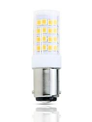 Недорогие -1шт 4 W LED лампы типа Корн 390 lm BA15D T 51 Светодиодные бусины SMD 2835 Декоративная Милый Тёплый белый Холодный белый 220-240 V