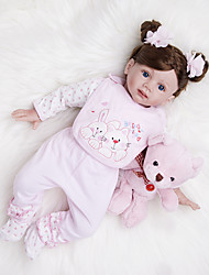 cheap -Reborn Doll Baby Girl 24 inch Kids / Teen Kid's Unisex Toy Gift