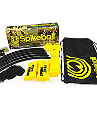 cheap -Spikeball 3 Ball Kit 3 Balls Playing Net Drawstring Bag Rubber Fun Adjustable Wearable Outdoor Volleyball Outdoor Exercise Team Sports For Unisex Indoor Outdoor Lawn