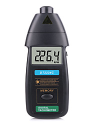 cheap -New High Quality Digital Laser Tachometer RPM Meter Non-Contact 2.5RPM-99999RPM LCD Display Speed Meter DT2234C Tester Speed