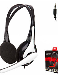 cheap -T-136 Over-ear Headphone Wired Earbud Stereo with Microphone
