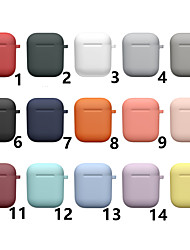 cheap -Case For AirPods Shockproof / Water / Dirt / Shock Proof Headphone Case Soft