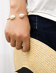cheap -Women's Bracelet Bangles Bracelet Retro Precious Trendy Pearl Bracelet Jewelry Gold For Gift Daily School Holiday Work