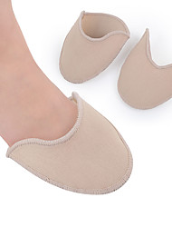 cheap -2pcs Orthotic Insole & Inserts Fabric Forefoot Spring Unisex Almond