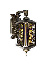 cheap -Outdoor Wall Lantern Bronze Corridor Courtyard Wall Lamp IP54 Household Commercial Decor Light Wall Mounted Antique Wall Sconce for Exterior Wall
