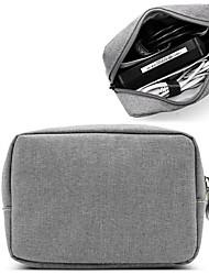 abordables -Tissu Oxford Fermeture Bagage à Main Couleur unie Quotidien Noir / Gris / Automne hiver