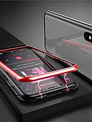 cheap -Case For Huawei Huawei Nova 4 / Huawei P20 / Huawei P20 Pro Magnetic Back Cover Transparent Aluminium