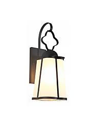 Недорогие -современный простой настенный светильник настенный светильник водонепроницаемый современный настенный светильник скрытого монтажа / наружные настенные светильники магазины / кафе / настенный