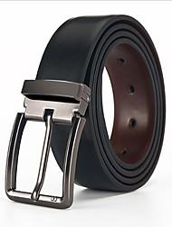 cheap -Men's Vintage / Work Leather Waist Belt - Solid Colored