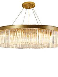 cheap -6-Light 55 cm Crystal Chandelier Metal Crystal Painted Finishes Chic & Modern 110-120V 220-240V