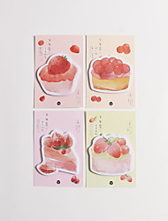 cheap -Natural Fiber Blushing Pink 1pc Stickers & Tapes 13*8.5 cm