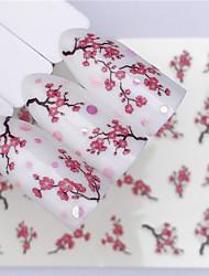 cheap -3 pcs Full Nail Stickers White Series nail art Manicure Pedicure Mini Style / Safety / Ergonomic Design Stylish / Fashion