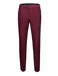 abordables -Homme Actif Costume Pantalon - Couleur Pleine Vin Rose Claire Rouge US32 / UK32 / EU40 US34 / UK34 / EU42 US36 / UK36 / EU44