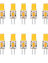 cheap -10pcs 2.5 W LED Bi-pin Lights 3000 lm G4 1 LED Beads Warm White White 12 V