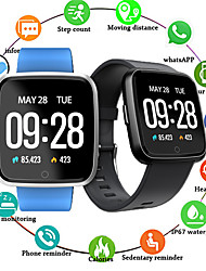 cheap -EC02 Bluetooth Smart Watch Heart Rate Color Screen Pedometer For Android For iOS Pressure Watch For Huawei Android IOS