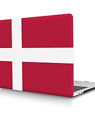 Недорогие -твердая оболочка из пвх Дании флаг для MacBook Pro Air Retina чехол для телефона 11/12/13/15 (a1278-a1989)