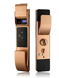 cheap -Factory OEM Y889 Aluminium alloy Intelligent Lock Smart Home Security System RFID / Fingerprint unlocking / Password unlocking Home / Office Security Door (Unlocking Mode Fingerprint / Password