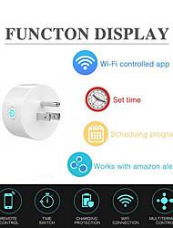 cheap -EU Plug Mini Smart Socket Wireless WiFi Power Plug Remote Control APP Timing Socket Switch for Home Automation System