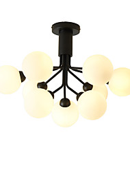 cheap -JSGYlights 9-Light 70 cm New Design Chandelier Metal Glass Cluster Painted Finishes Modern / Nordic Style 110-120V / 220-240V / G9
