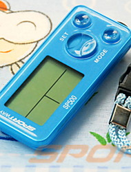 cheap -SP500 Electronic Pedometer Other OS Outdoor / Phone Strap / Pedometers Gravity Sensor PP+ABS / Neoprene / PC Blue / Pure White