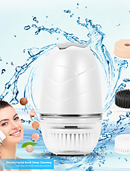 cheap -Face Cleansing Instrument Blackhead Beauty Brush 3 In 1 Function IP65 Waterproof Rechargeable Design Machine