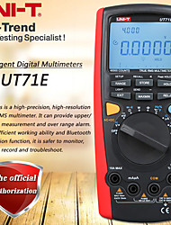 cheap -UNI-T UT71E Intelligent Digital Multimeters LCD True RMS AC DC Volt Amp Ohm Modern Auto Range Multi Testers with USB Interface