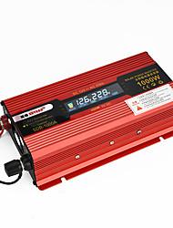 Недорогие -2000 Вт 1000 Вт автомобильные инверторы постоянного тока 12 В переменного тока 110 В / 220 В преобразователь напряжения autowith зарядное устройство автомобильное зарядное устройство светодиодный