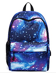 cheap -Large Capacity Oxford Zipper School Bag Daily Black / Purple / Blue