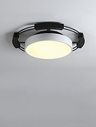 cheap -1-Light CONTRACTED LED® 45 cm Creative / New Design / Cool Flush Mount Lights Metal Geometrical / Novelty Painted Finishes Nature Inspired / Modern 110-120V / 220-240V