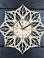 abordables -horloge murale mandala en bois décorer votre maison avec l'art moderne - taille 12 pouces