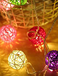 cheap -Beautiful LED Ball String Lights Creative Night Lamp Festival Wedding Party Yard Decoration Gift Hanging Pendant