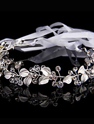 cheap -Women's Hair Jewelry For Wedding Engagement Party Wedding Geometrical Crystal Alloy Silver 1 pc