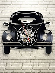 cheap -Car Retro Vinyl Record Wall Clock - Decorate your home with Modern Art - Gift for kids girls and boys saat