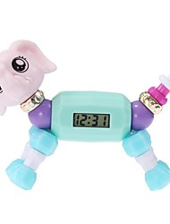 cheap -Girls' Digital Watch Quartz Lovely Digital Casual - Purple Fuchsia Blue