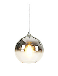 cheap -1-Light 20 cm Pendant Light Glass Glass Globe Electroplated Nordic Style 110-120V / 220-240V