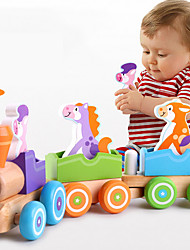 cheap -Interlocking Blocks Train Relieves ADD, ADHD, Anxiety, Autism Parent-Child Interaction Train Car 3 pcs Child's All Toy Gift