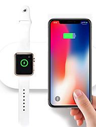 cheap -For iWatch 2 3 QI Wireless Charger Quick Fast Charging Pad for Apple Watch Sumsang iPhone